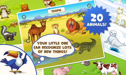 Zoo Playground: Games for kids-3