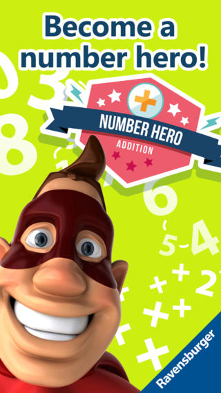 Number Hero: Addition - An Exciting Numbers Game-1