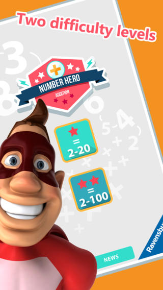 Number Hero: Addition - An Exciting Numbers Game-2