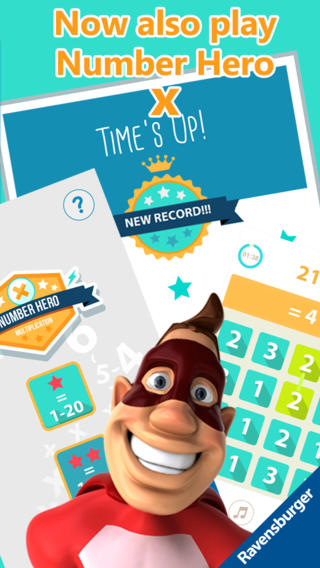 Number Hero: Addition - An Exciting Numbers Game-5