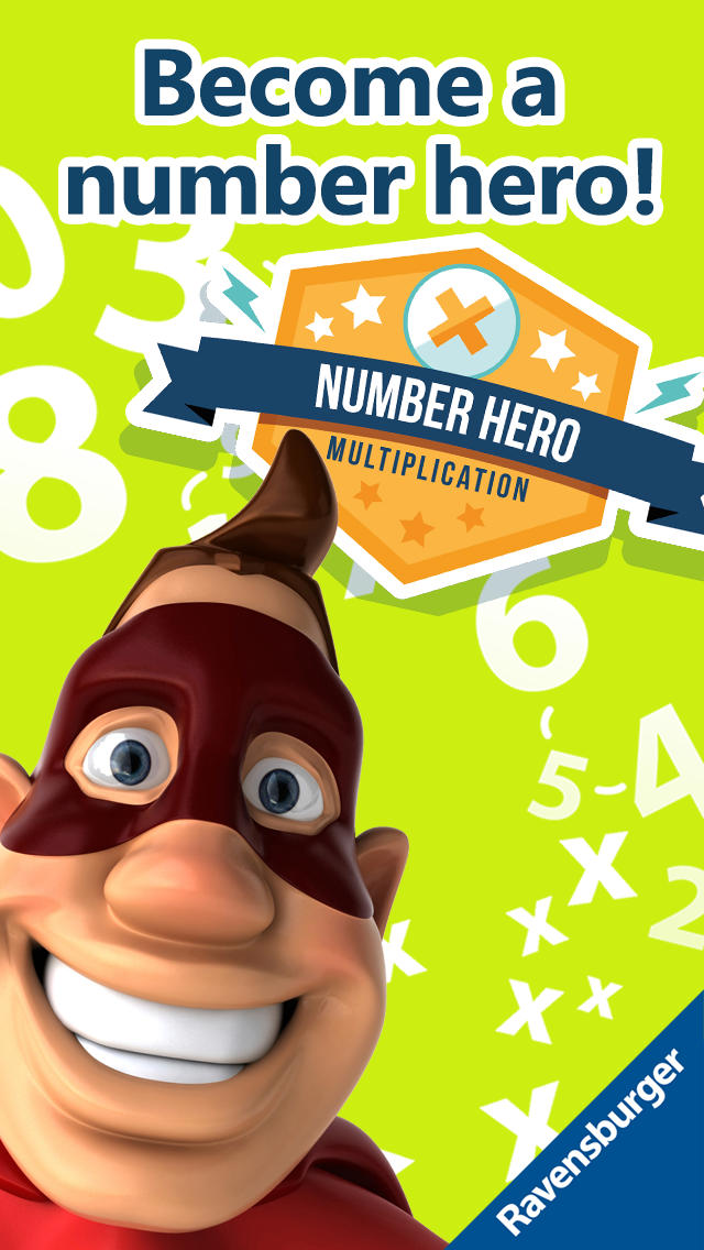 Number Hero: Multiplication - An Exciting Numbers Game App - 1