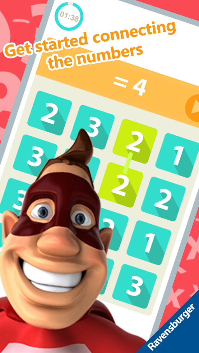 Number Hero: Multiplication - An Exciting Numbers Game App - 3
