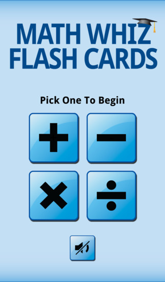 Math Whiz Flash Cards App - 1