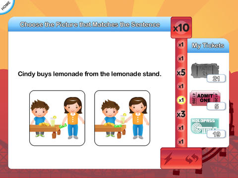InTense Home - Verb Practise for Kids App - 1