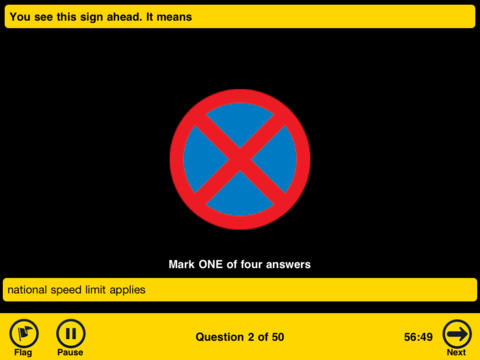 AA Theory Test for Car Drivers-3
