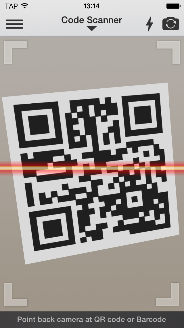QR Reader for iPhone App - 1