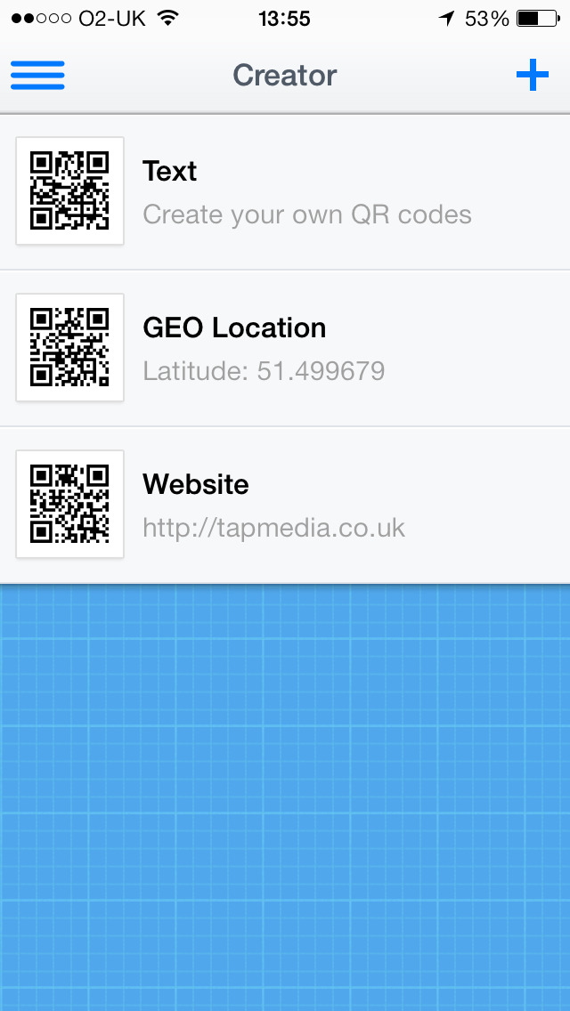 QR Reader for iPhone App - 4