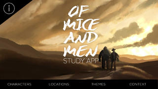 Of Mice and Men Study App App - 1