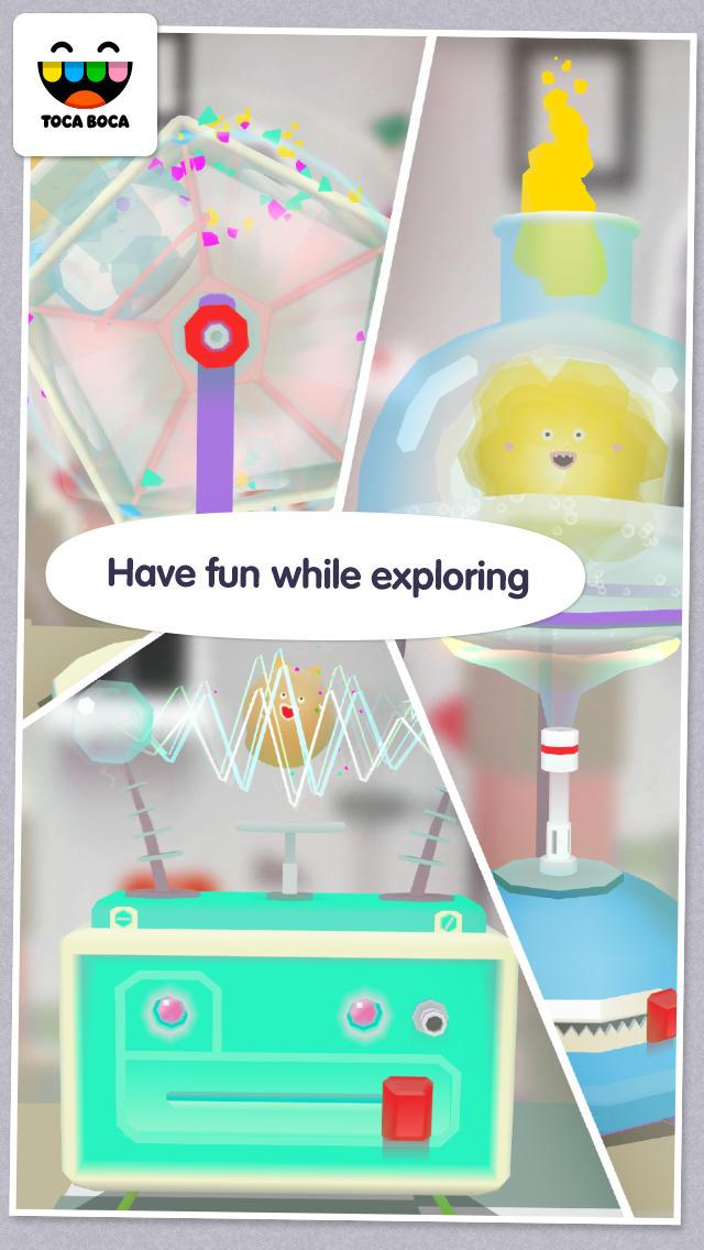 Toca Lab App - 5
