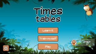 Time Tables Jungle App for Grade 3 [FREE]-1