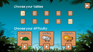 Time Tables Jungle App for Grade 3 [FREE]-5