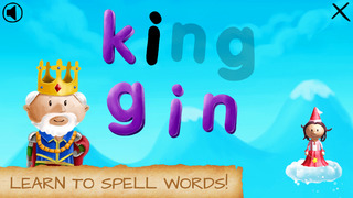Princess Lila - Children's Spelling & Counting Games App - 2
