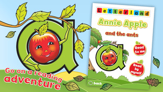 Letterland Stories: Annie Apple-1