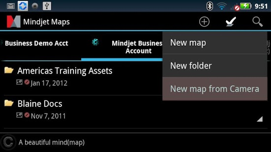 Mindjet Maps for Android App - 1
