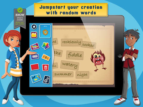 Word Creativity Kit - The creative writing tool for kids-2
