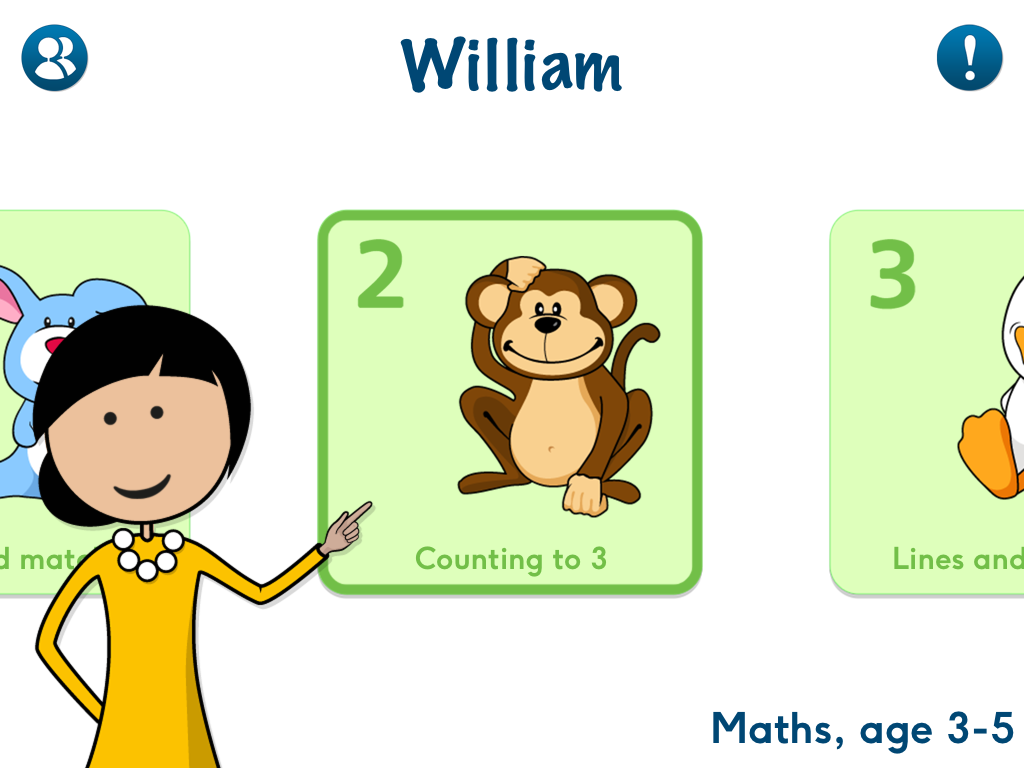 Maths, age 3-5 App - 1