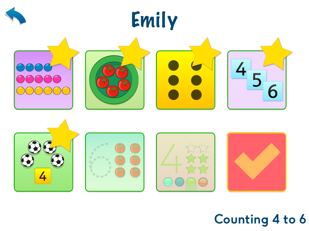 Maths, age 3-5 App - 2