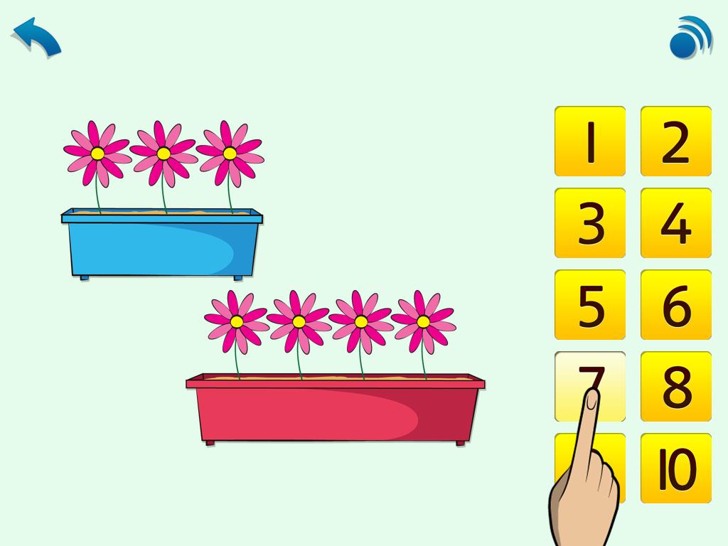 Maths, age 3-5 App - 4