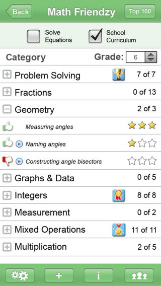Math Friendzy App - 1