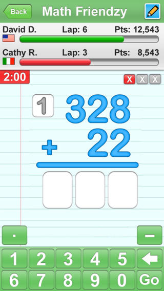 Math Friendzy App - 3