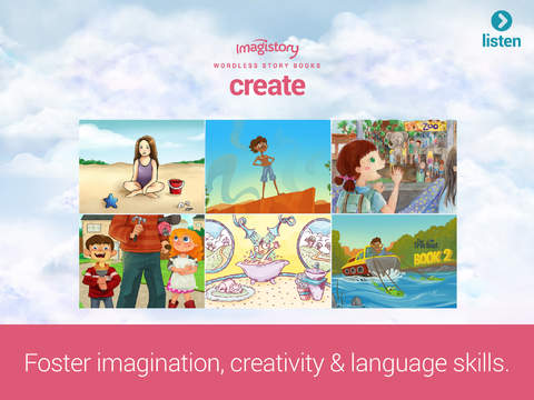 Imagistory - Creative Storytelling App for Kids