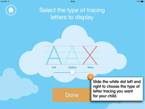 Writing and Colouring Activity Book of Weather Words – a Montessori letter shape tracing activity app-4