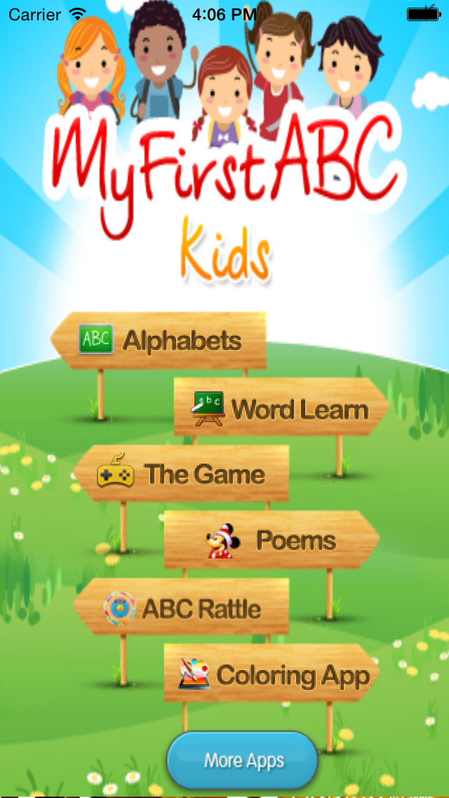 My First ABC Kids - Learn Alphabets Poems n Games App - 1