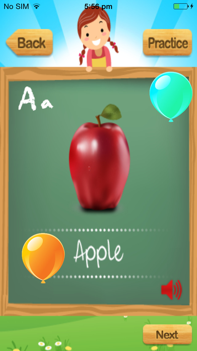 My First ABC Kids - Learn Alphabets Poems n Games App - 3