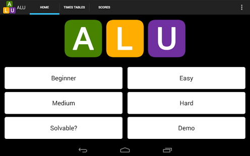 ALU Math & Number Fun App - 19