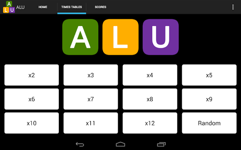 ALU Math & Number Fun App - 20