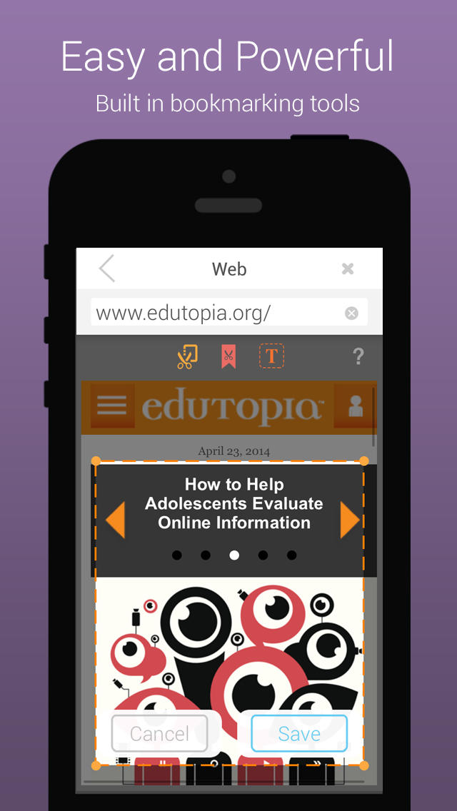 eduClipper App - 3