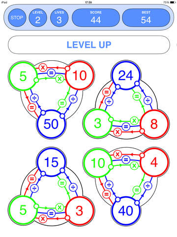 Super Number Triangles App - 3