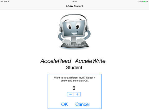 AcceleRead AcceleWrite Student