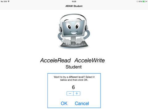 AcceleRead AcceleWrite Student App - 1