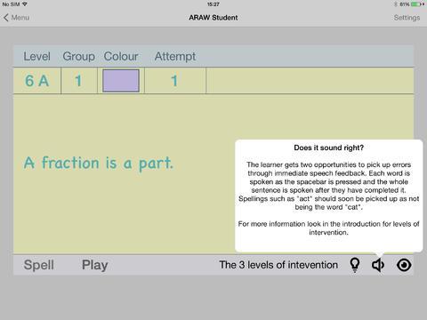 AcceleRead AcceleWrite Student App - 2