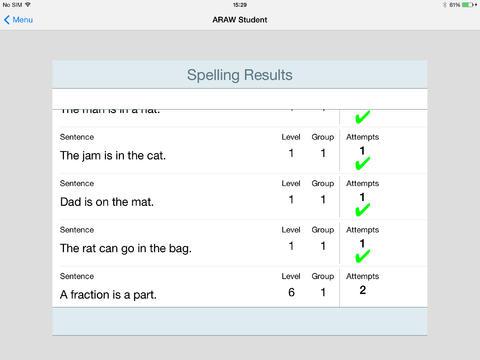 AcceleRead AcceleWrite Student App - 4