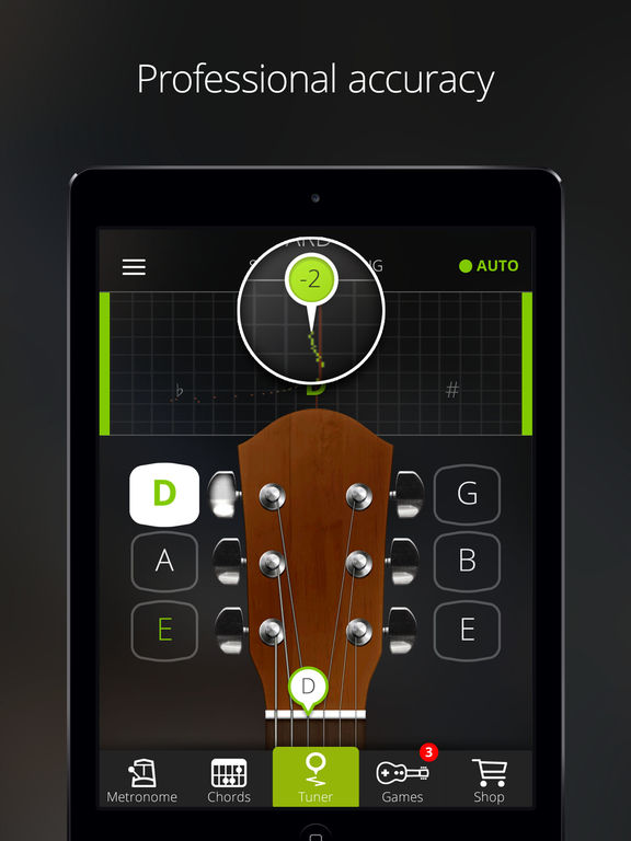 GuitarTuna: Guitar, Bass tuner App - 2