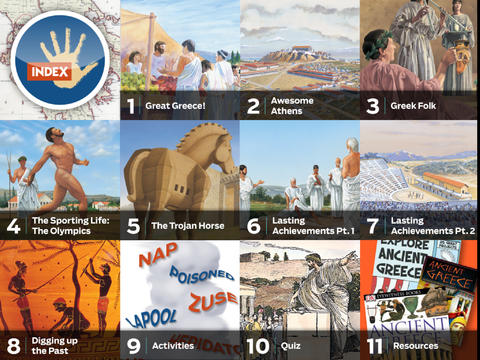 Ancient Greece by KIDS DISCOVER App - 2
