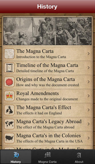 Magna Carta The Definitive Guide App - 2