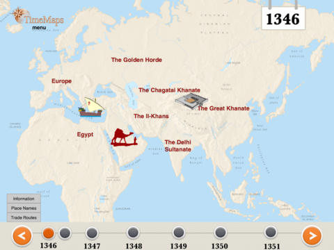 The Black Death History Map-2