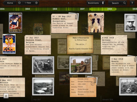 Timeline WW1 with Dan Snow: Full Edition App - 2