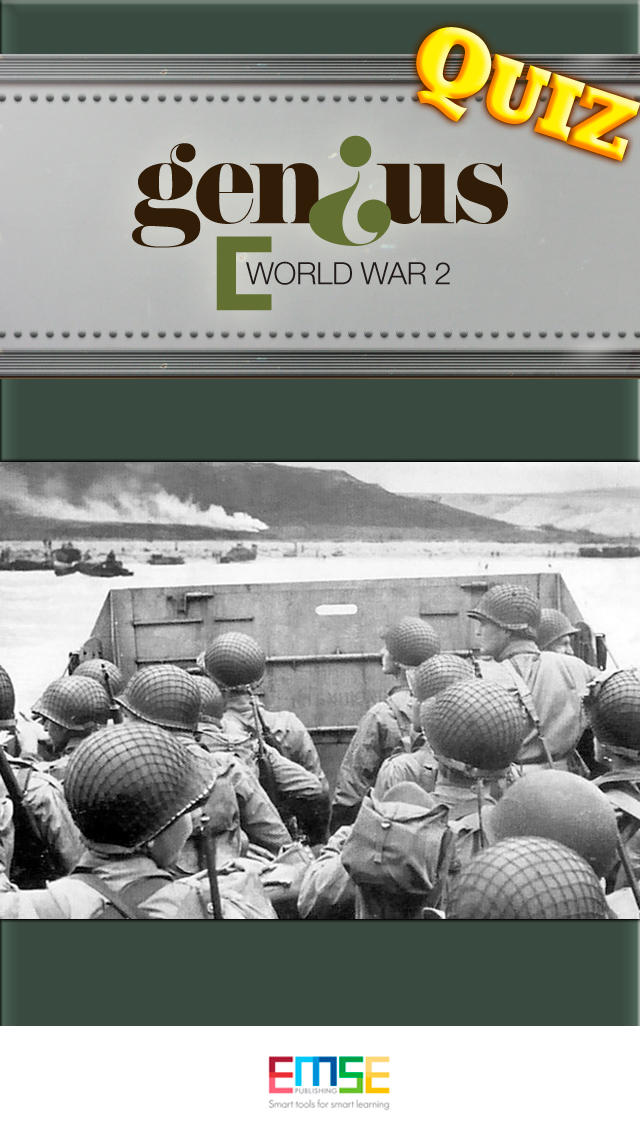 Genius Quiz World War 2 - History-1