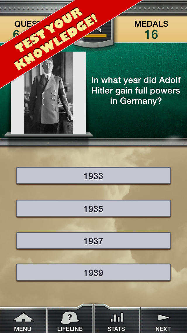 Genius Quiz World War 2 - History-2