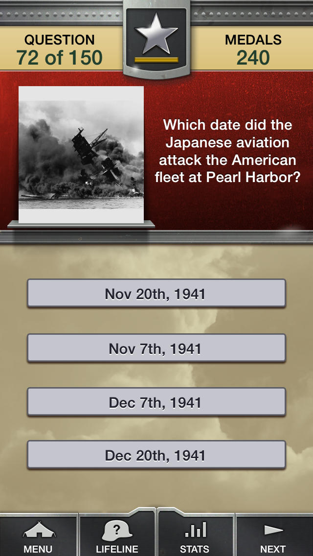 Genius Quiz World War 2 - History-4