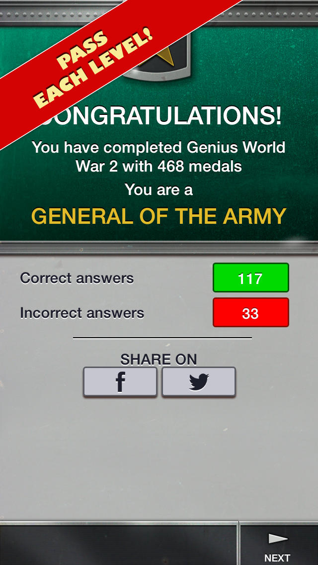 Genius Quiz World War 2 - History-5