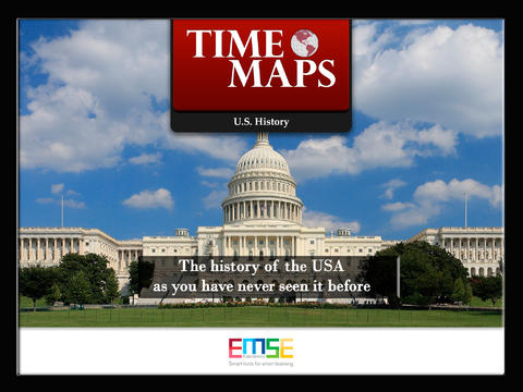 TIMEMAPS U.S. History - Historical Atlas App - 1