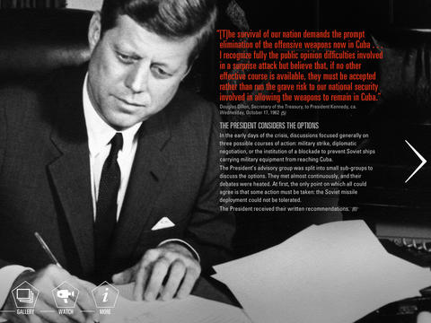 To The Brink: JFK and the Cuban Missile Crisis App - 2