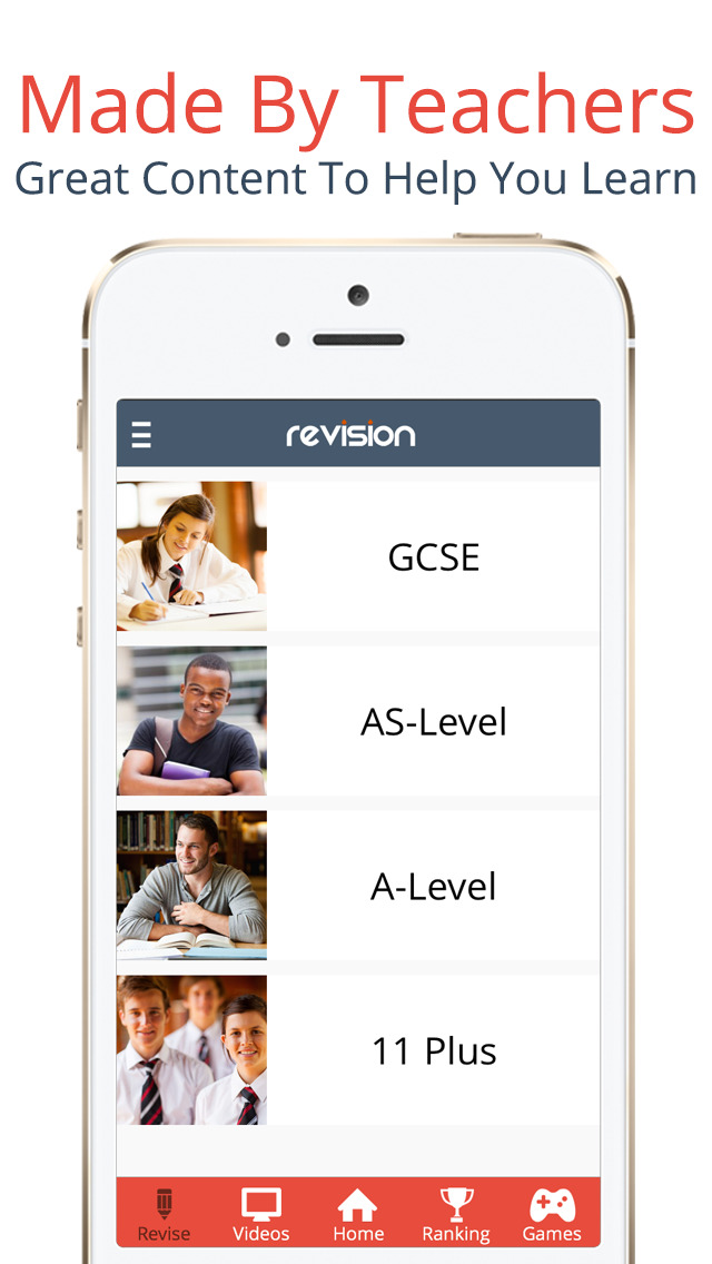 Revision App - The Ultimate Revision Tool & GCSE, A-Level & 11 Plus App App - 1