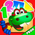 Dino Tim: Math learning, numbers, shapes, counting games for kids and basic skills for preschoolers