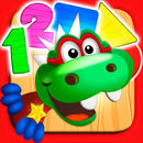 Dino Tim: Math learning, numbers, shapes, counting games for kids and basic skills